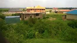 A plot for sale 50 by 100ft in katabi at 40m title ready.