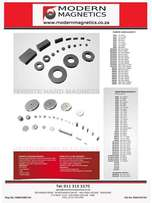Magnets and Magnetic Products Commercial and Industrials