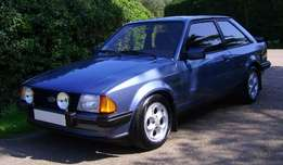 Ford XR3i wanted
