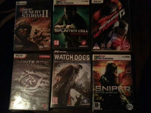 26 pc games for sale R80each or R900 for all Heidelberg - image 2