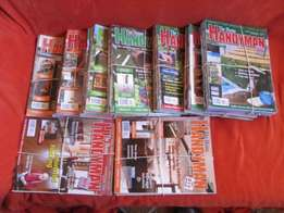 Home Handyman & Woodwork magazines, ETC.