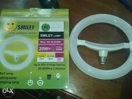 20W smiley bulb coloured