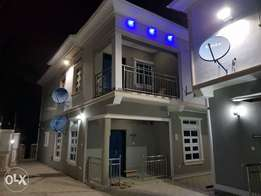 Two bedroom mini duplex at olokuta with at least 20hrs light