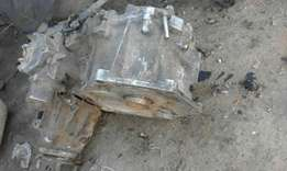 Transfer cassing and main gearbox