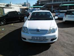 Toyota corolla 1.4 2004 Model,5 Doors factory A/C And C/D Player