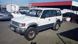 Mitsubishi Pajero 2.8 Diesel 7 seater 4x4 1998 on special sale R49500