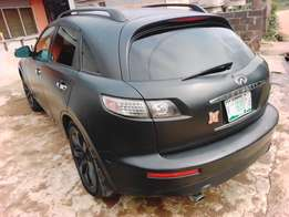 infiniti fx 35 mart sport painted super fast engine