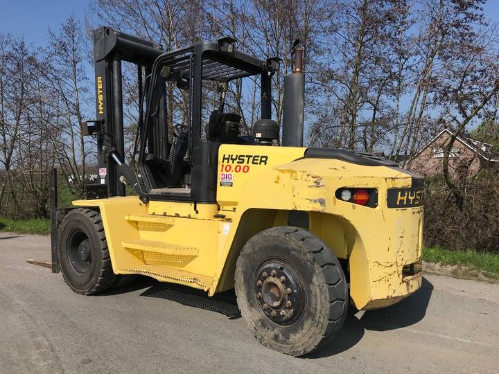 Hyster H10.00XM-6 1600 hrs only! - 2007 - image 3