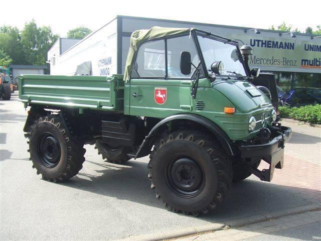 Unimog U 900 Cabrio,,u 406, - 1978
