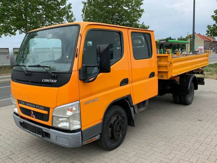 Mitsubishi Canter 5S13D.Meiler 3 sides tipper.manual.German - 2006