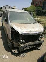 Toyota noah KCC with damaged rear part
