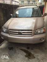 Toyota Highlander 2004, clean and accident free toks