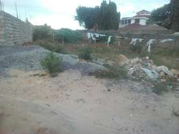 A prime plot of an 1/8 for sale in nyali off beach road