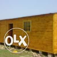 Lotto wooden house manufacturing