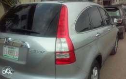 Clean Honda CRV 2010 Silver on offer