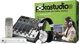 Podcast Studio Package from Behringer