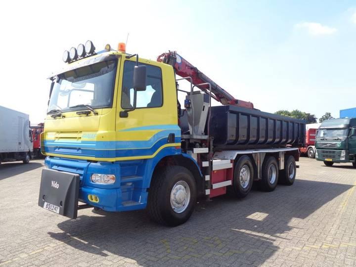 Ginaf X 4243 TS + Manual + PTO + Kipper + Crane HSW - 2006