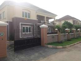 Standard 5 Bedroom duplex with boys quarters and swimming pool