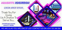 LED Sign Boards ,Light Box,Scrolling Boards,3D Sign Boards.On SALE