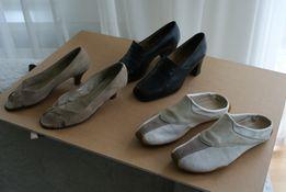 6e23ed71 3 pary buty/czółenka/buty sportowe/klapki/skóra naturalna Reebok 37