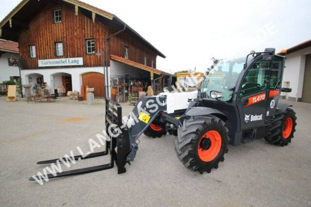 Bobcat Tl 470 Inkl. Schaufel & Gabel - 2012