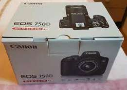 canon eos 750D brand new sealed 12 months warranty