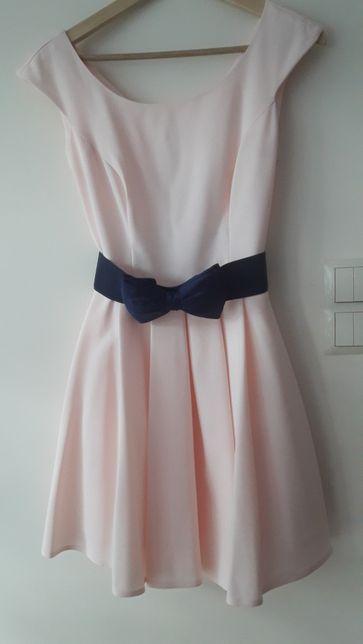 d9dbdfde68 Sukienka krótka rozkloszowana wesele komunia rozm 38 Błędów - image 1