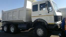 mercedes 10 cube tipper up for sale hurry while it last