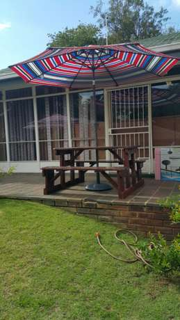 Quality wooden patio pub shebeen benches Roodepoort - image 2