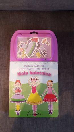 Magiczne Magnesiki Mała Baletnica Książka Magnesy Unikat