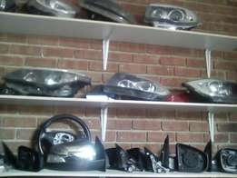 BMW headlights taillights mirrors and accessories
