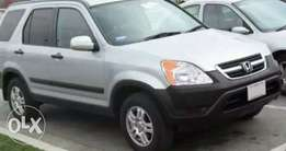Super Clean First body Honda CR-V 2002 model