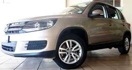 2014 Volkswagen Tiguan 2.0 TDi Trend-Fun Bluemotion 6-Speed