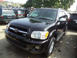 2007 Toyota sequioa direct from USA for sale