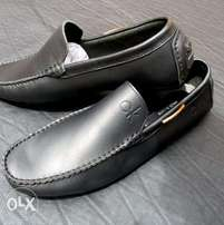 Calvin Klein moccasins and Clark's original made in Italy leather