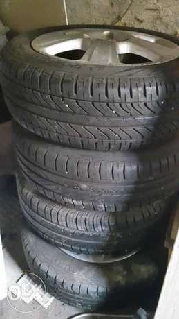 Corsa rims with tires Bayswater - image 1