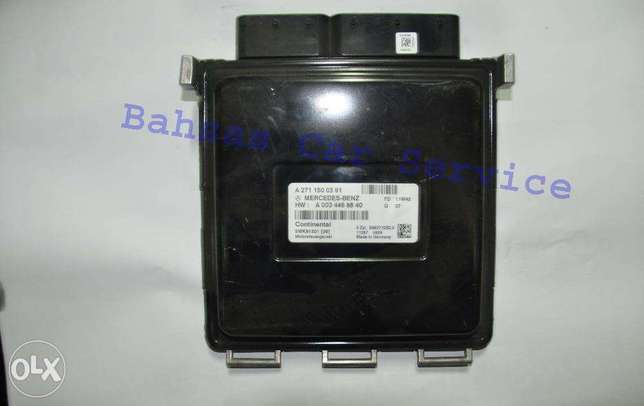 Mercedes W204 / Engine ECU / Kaf Dawaran