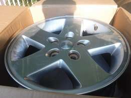 4xJeep Wrangler mags 17 inch