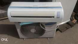 Samsung 1hp A/C for sale just 2months old used