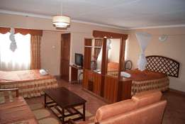 Nairobi CBD - Furnished rooms in Spacious compound with Gym