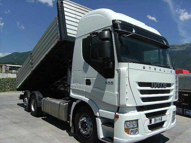 Iveco STRALIS AS 260 S 50 PS CUBE RIBALTABILE MANUALE - 2008