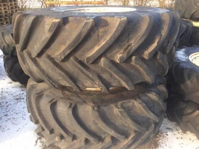 650/75x32 Tvillinghjul