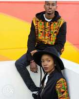 Ankara Detailed hoodies and jackets