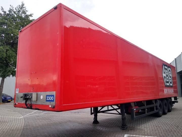 Pacton 3-Assige Boxtrailer / Liftas / SAF - 1999