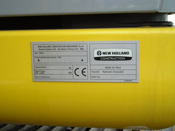 New Holland E135b - 2014 - image 11