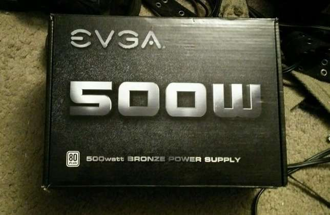 quick sale evga 500 watts power supply Nairobi South - image 1