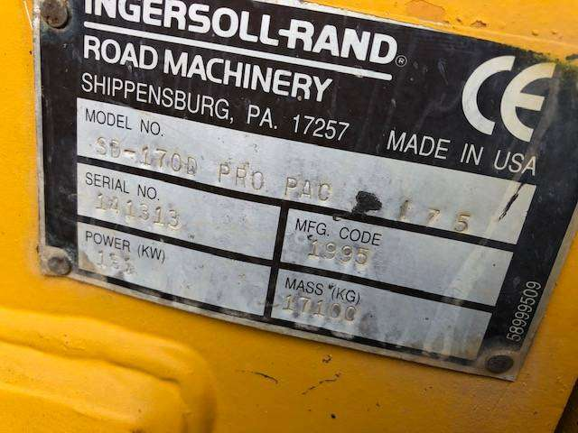 Ingersoll Rand Sd 170 D - 1995 - image 6