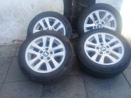 A set BMW rims and tyres 16inch for sale
