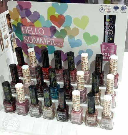 24 piece nail polish with stand