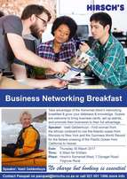 Hirsch's Business Networking Breakfast